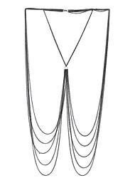 cheap -Women's Body Chain Alloy Bohemian Natural Friendship Hip-Hop Gothic Punk Geometric Body Jewelry For Wedding Birthday Graduation Casual