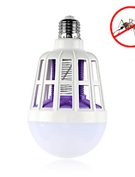 cheap -1pc 15W 600lm E26 / E27 LED Globe Bulbs 24pcs LED Beads SMD 2835 Insect Mosquito Fly Killer White 220-240V