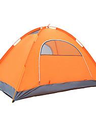 3-4 personnes Tente Double Tente de camping Une pièce Tente automatique Résistant à l'humidité Etanche 4 Saison pour Camping Voyage