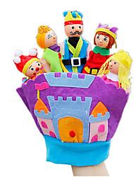 abordables -Marionnettes de Doigt Rabbit Animaux Tactel Enfant Cadeau