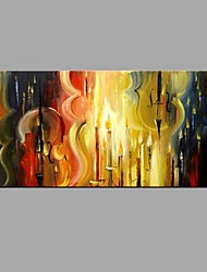cheap -Hand-Painted Abstract Cello pictures Abstract Oil Painting Home Decoration Stretched Frame Ready To Hang