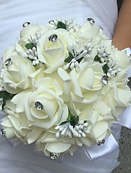abordables -Fleurs de mariage Bouquets Autres Fleur Artificielle Mariage Fête / Soirée Matière Dentelle 0-20cm