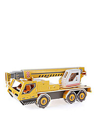 3D Puzzles Jigsaw Puzzle Paper Model Toy Cars Construction Vehicle Forklift Toys Forklift 3D Children's Pieces