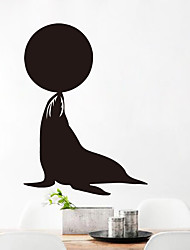 Animal Dolphin Show Film Top Grade Creative Chalkboard Wall Sticker Vinyl Wall Decals Removable Poster