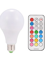 cheap -1pc 9 W 600 lm E26 / E27 LED Smart Bulbs A80 38 LED Beads Integrate LED Remote-Controlled / Decorative / Color Gradient Warm White / RGBWW 85-265 V / 1 pc / RoHS