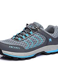 abordables -Adulto Zapatillas de Atletismo Confort Tul Primavera Otoño Deportivo Senderismo Confort Tacón Plano Gris Plano