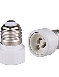cheap -2 Pcs of E26 E27 Edison Screw to GU10 Bayonet Base Adapter Lamp Socket
