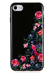baratos -Caso para maçã iphone7 7 mais modelo de animal de flor padrão para iphone 6s mais 6 mais 6s 6