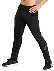 cheap -Men's Running Pants Fitness, Running & Yoga Tights Bottoms Running/Jogging Exercise & Fitness Jogging Fitness Polyester Spandex Slim Black