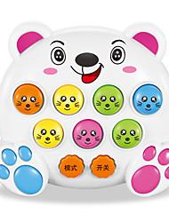 Недорогие -Игра Gopher Игрушки Электрический Веселье Пластик Дерево Детские Куски