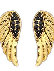 Femme Boucles d'oreille goujon Strass Basique Stras Bijoux Movie Bijoux de Luxe Bijoux Fantaisie USA Classique Elegant Durable Sexy Mode