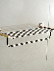 baratos -Prateleira de Banheiro Alta qualidade Neoclassicismo Metal 1 Pça. - Banho do hotel Casal (L200 cm x C200 cm) Montagem de Parede