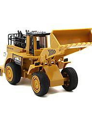 Недорогие -Игрушечные машинки Модели автомобилей Игрушки Строительная техника Экскаватор Игрушки Автопогрузчик Экскаватор Игрушки ABS Металлический