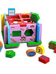 Tenda da gioco Puzzle di legno per il regalo Costruzioni Lengo naturale 3-6 anni Giocattoli