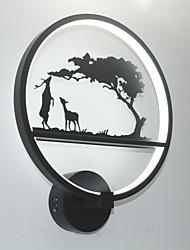 cheap -Modern / Contemporary Wall Lamps & Sconces Aluminum Wall Light 110-120V / 220-240V 19W