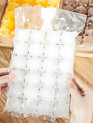 cheap -Disposable Ice Cube Bag 10Pcs/1 Pack Tray Frozen Juice Liquid