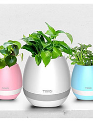 cheap -K3 Intelligent Creative Music Flowerpot Can Play The Piano Outdoor Home Wireless Dluetooth Speakers Singing Potted Donsai
