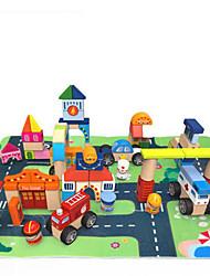 baratos -Kit Faça Você Mesmo para presente Blocos de Construir Rectângular Quadrada Brinquedos