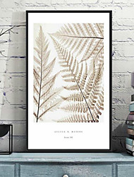 cheap -Floral/Botanical 3D Framed Art Wall Art,PS Material With Frame For Home Decoration Frame Art Living Room Bedroom Kids Room