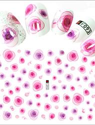 1pcs Hot Fashion Romantic Design Nail Art 3D Stickers Sweet Style Beautiful Flower Decoration For Manicure DIY Beauty F093