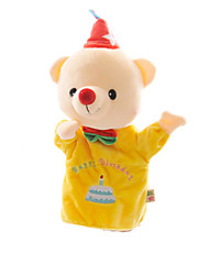 cheap -Finger Puppets Puppets Hand Puppet Cute Lovely Teddy Bear Plush Kid's Gift