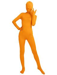 """Блестящие костюмы на все тело """"зентай"""" Morphsuit Костюмы зентай Косплэй костюмы Бежевый Темно-зелёный Цвет фуксии Коричневый Серебро"""