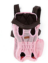 Chat Chien Sac de transport Sac à dos avant Dog Paquet Animaux de Compagnie TransporteurAjustable/Réglable Portable Diatonique double