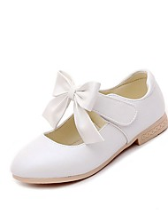 cheap -Girls' Sandals Casual  Summer Fall Party Casual Walking Bowknot Chunky Heel Blushing Pink White Gold Under 1in