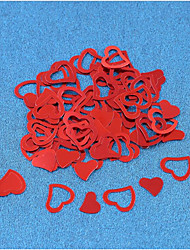 cheap -500 Pieces/A Set Of Heart-Shaped Paper Chip/Love Wedding Emulation/Table Wedding Decoration