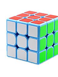 baratos -Rubik's Cube Cubo Macio de Velocidade Etiqueta lisa Cubos Mágicos Plásticos