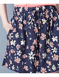 cheap -Women's High Rise strenchy Loose Shorts Pants,Casual Print Summer