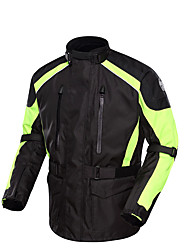 Men's Bike Tops Waterproof Breathable Thermal / Warm Windproof Protective Cotton Terylene Oxford Sports Motobike/Motorbike