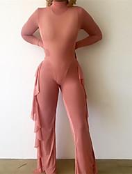 Women's Ultra Sexy Nightwear,Sexy Solid-Medium Mesh Polyester