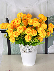 1 Simulation Of  Ball Chrysanthemum Hyacinth Living Room Decoration Floral  Bouquet