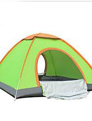 3-4 Personen Zelt Einzeln Camping Zelt Falt-Zelt warm halten für Camping & Wandern Aluminium Legierung CM