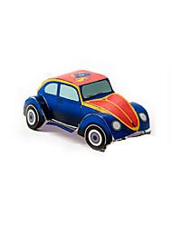 Недорогие -Игрушечные машинки 3D пазлы Пазлы Оригами Автомобиль 3D Своими руками моделирование Классика Мультяшная тематика Все возрастные группы
