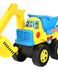 cheap -Toy Cars Beach & Sand Toy Beach Toys Toys Motorcycle Construction Vehicle Dozer Excavator Toys Extra Large Rectangular Excavating