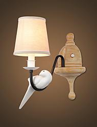 preiswerte -Rustikal/ Ländlich Einfach Modern/Zeitgenössisch Wandlampen Für Metall Wandleuchte 220v 110V 60W
