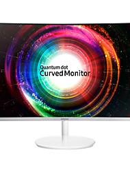 SAMSUNG curved computer monitor 27 inch VA 1800R 2K pc monitor 2560*1440 eyesight protective HDMI Mini-DP
