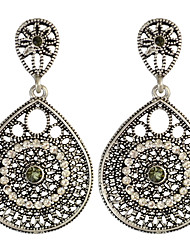 cheap -Women's Drop Earrings Basic Circular Unique Design Dangling Style Pendant Circle Friendship Fashion Luxury Vintage Statement Jewelry