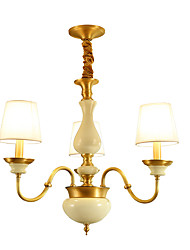All Copper Chandelier Jade DecorativeLiving Room Chandelier F