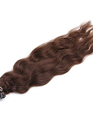 cheap -Fusion /U Tip Human Hair Extensions Natural Wave 50 Strands/Pack 20 inch