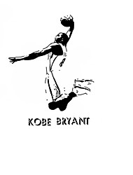cheap -Kobe Bryant Basketball Player Vinyl Wall Stickers Famous Sports Athlete Star Wall Decals Home Decor For Kids Boys Room