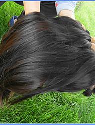Недорогие -Высокое качество бразильских виргинских волос навалом 3bundles 300 г натуральных бразильских человеческих волос натуральный черный цвет