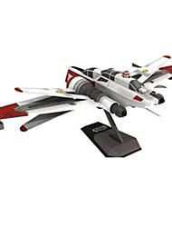 abordables -Puzzles 3D Maquette en Papier Loisirs Créatifs en Papier Kit de Maquette Carré Avion Bateau 3D A Faire Soi-Même Papier cartonné Classique