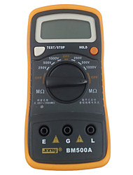 Szbj Bm500A Digital Insulation Resistance Tester Digital Megger Electronic Table
