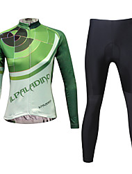 KEIYUEM Cycling Jersey with Tights Women's Long Sleeves Bike Tights Clothing Suits Waterproof Quick Dry Windproof Insulated Rain-Proof