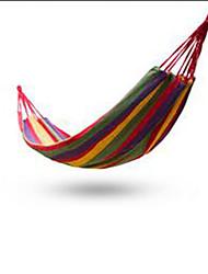 abordables -1 Persona Hamaca para camping Portátil Lona para Camping y senderismo Al Aire Libre