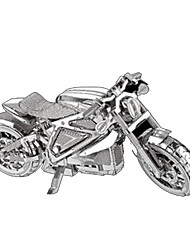 cheap -Toy Cars 3D Puzzles Metal Puzzles Toys Motorcycle Horse DIY Chrome Metal Not Specified Pieces