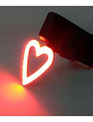 Недорогие -Велосипедные фары Светодиодная лампа Велоспорт Милый стиль Мини На открытом воздухе Конструкторы USB Люмен USB Красный Повседневное